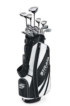 Callaway Men's Strata Ultimate Complete Golf Set - best golf clubs for beginners