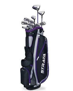 Callaway Women's Strata Plus Complete Golf Club Set with Bag - best golf clubs for beginners