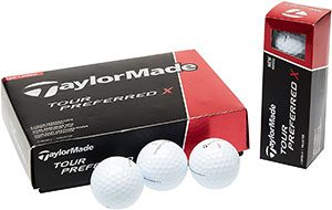 TaylorMade 2016 Tour Preferred X Golf Balls