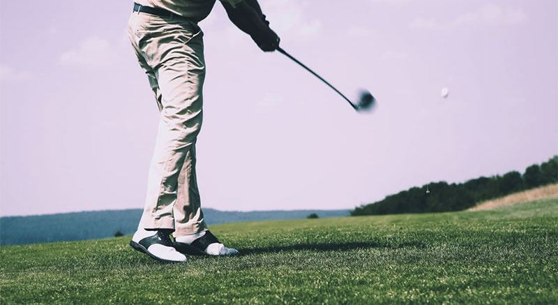 golf shoes swing