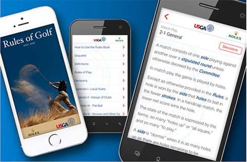 usga golf rules app
