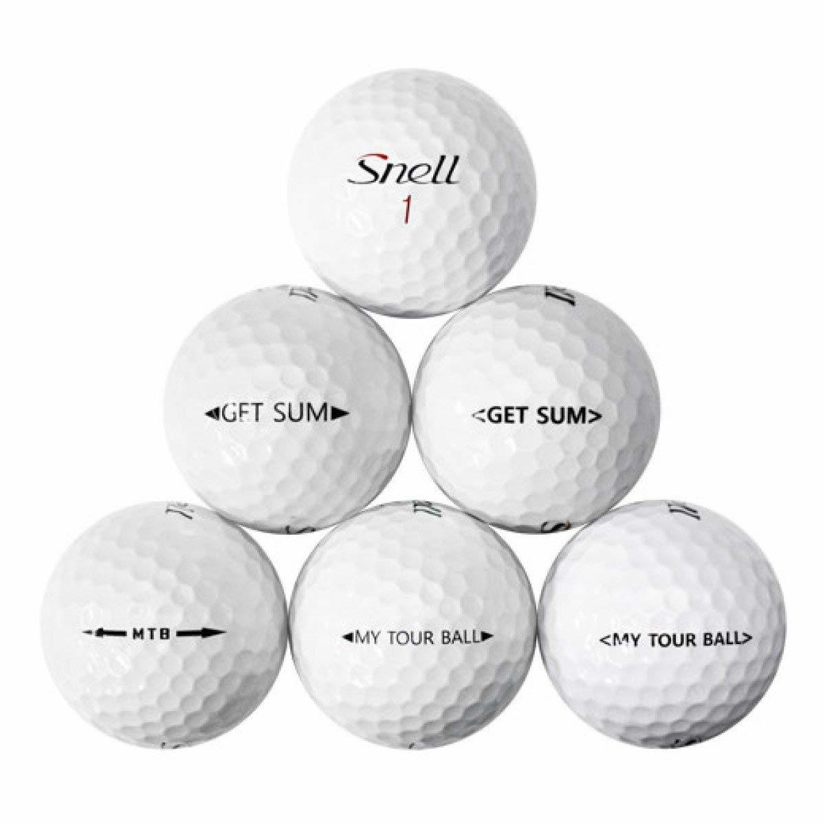 Diffirent kinds of snell golf balls